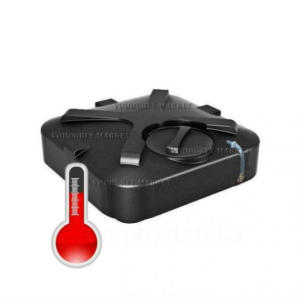 Фото 1 - Бак для душа 200л с подогревом, термометром , уровнем воды и дыхательным клапаном.