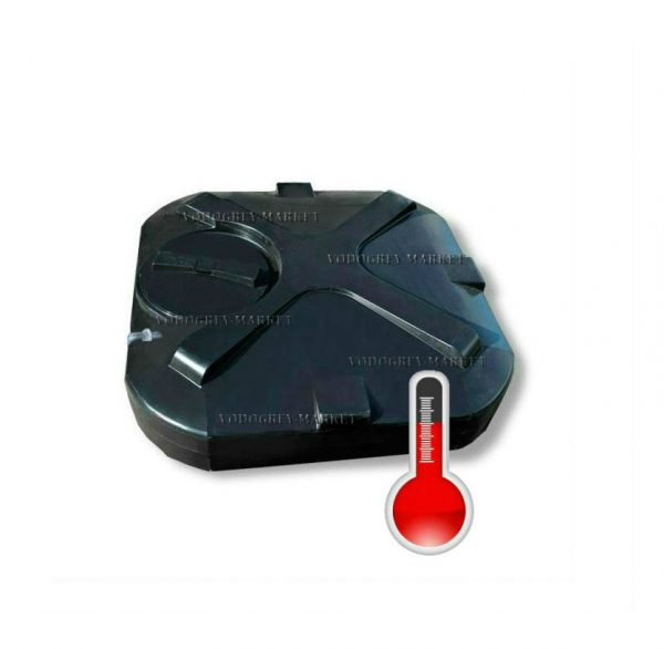 Фото 1 - Бак для душа 150л с с подогревом, уровнем воды , термометром , дыхательным клапаном.