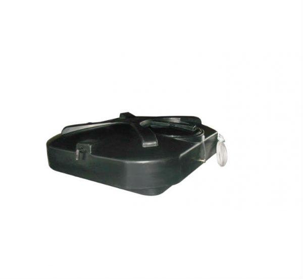 Фото 7 - Бак для душа 200л с подогревом, термометром , уровнем воды и дыхательным клапаном.