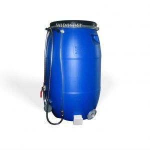 Фото 48 - Бак для душа 65 литров ЛЮКС с водяным уровнем, термометром  .