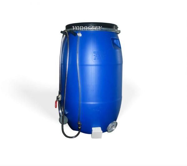 Фото 1 - Бак для душа 65 литров ЛЮКС с водяным уровнем, термометром  .