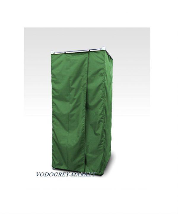 Фото 1 - Дачная душевая кабина сборная без бака (зеленая).