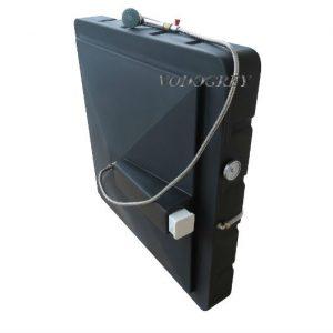 Фото 20 - Бак для душа 150 л с подогревом ЛЮКС с гибким шлангом.
