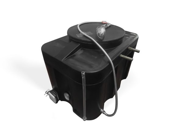 Фото 3 - Бак для душа ЭВН 150 л Люкс с гибким шлангом.